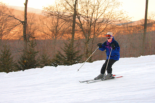 Skiing -- Taking Photos of Fast Moving Subjects
