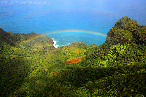 Rainbow, Kauai, Hawaii