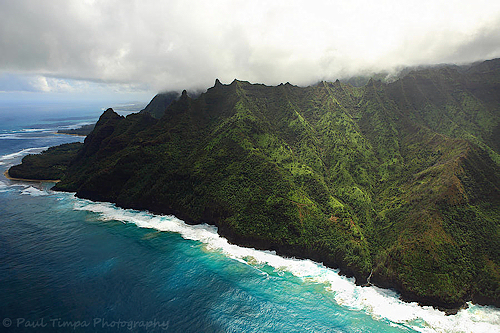 Na Pali Coast and Kalalau Trail, Kauai, Hawaii