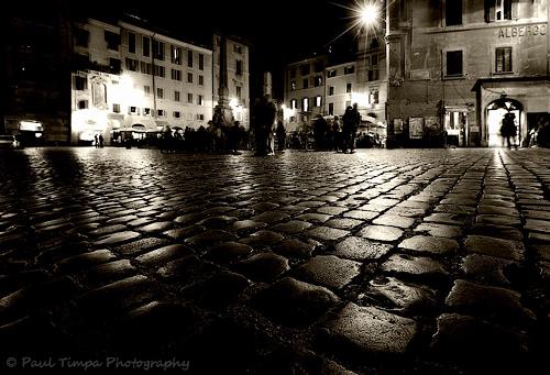 Piazza Rotunda, Rome, Italy