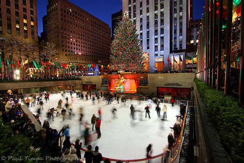 Rockefeller Center Ice Skating, NYC