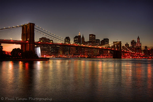 Brooklyn bridge paul timpa photography blog for Places to see in nyc at night
