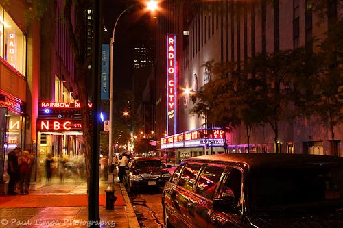 Rockefeller Center and Radio City, NYC
