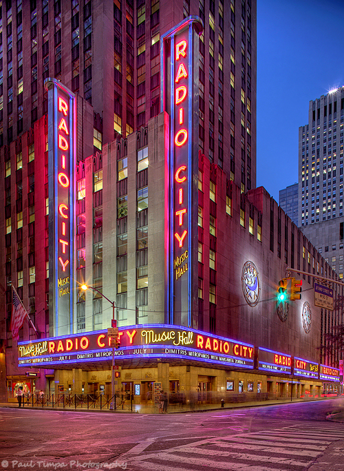 Radio City Music Hall, NYC
