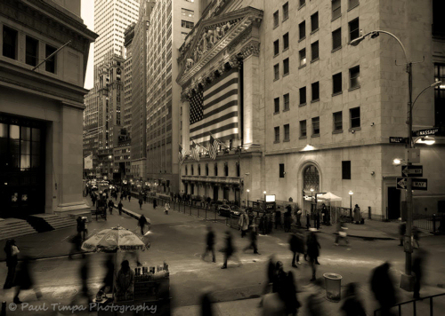 New York Stock Exchange -- Wall Street