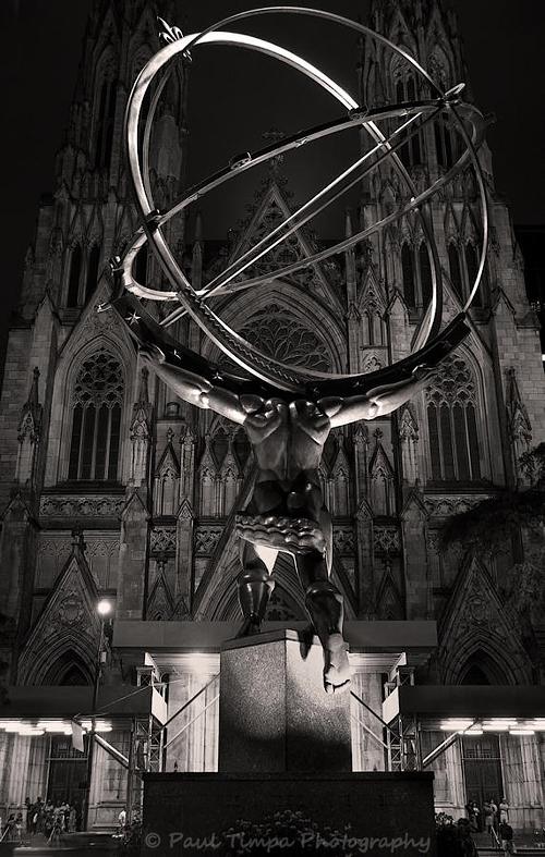 Statue of Atlas, Rockefeller Center, NYC
