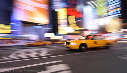Times Square Taxi, NYC